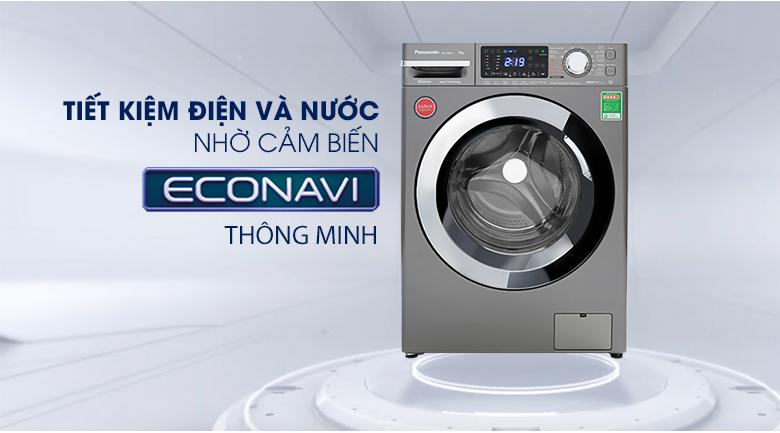 Máy giặt Panasonic Inverter 9 Kg NA-V90FX1LVT - Econavi