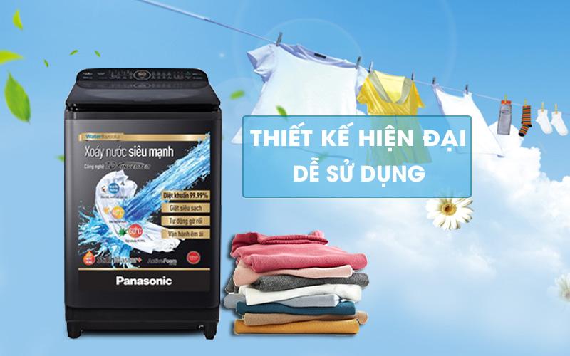 Máy giặt Panasonic Inverter 12.5 Kg NA-FD12VR1BV - Thiết kế hiện đại, dễ sử dụng