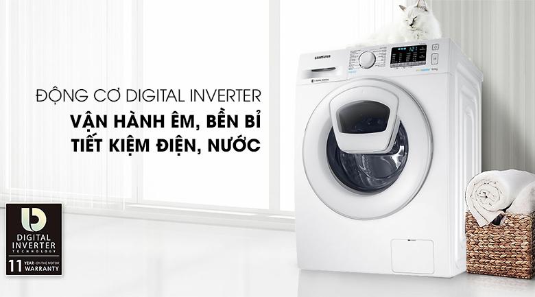 Công nghệ Inverter - Máy giặt Samsung Addwash Inverter 9 Kg WW90K44G0YW/SV