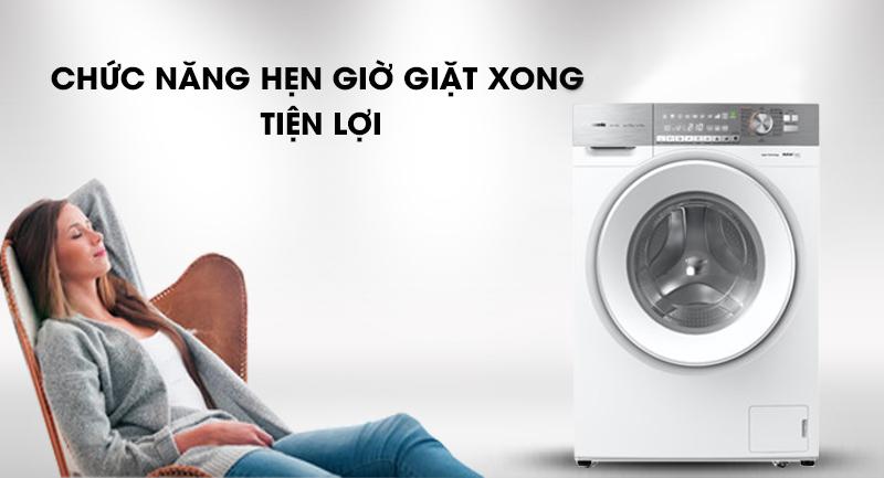 Máy giặt Panasonic Inverter 10 Kg NA-S106G1WV2-Tiện lợi cùng chức năng hẹn giờ giặt