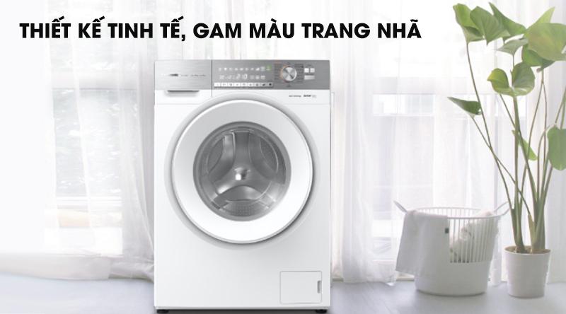 Máy giặt Panasonic Inverter 10 Kg NA-S106G1WV2-Thiết kế tinh tế, gam màu trang nhã