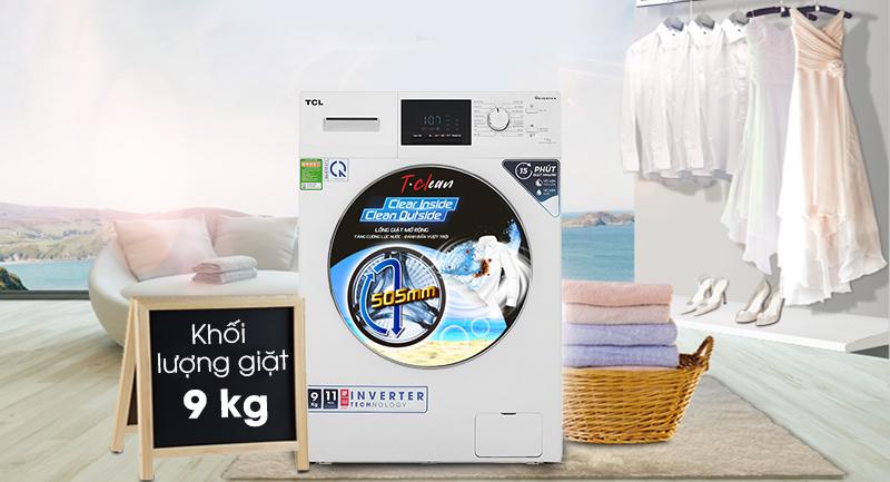 Máy giặt TCL TWF90-M14303DA03 - Khối lượng giặt