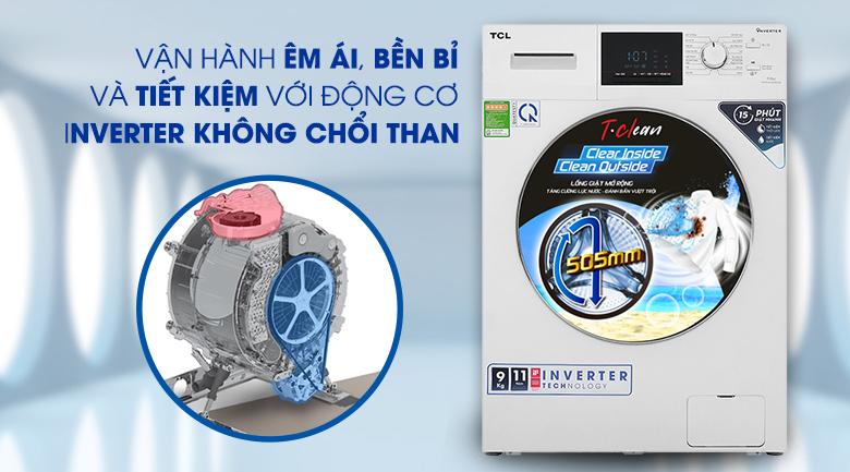 Máy giặt TCL TWF90-M14303DA03 - Inverter