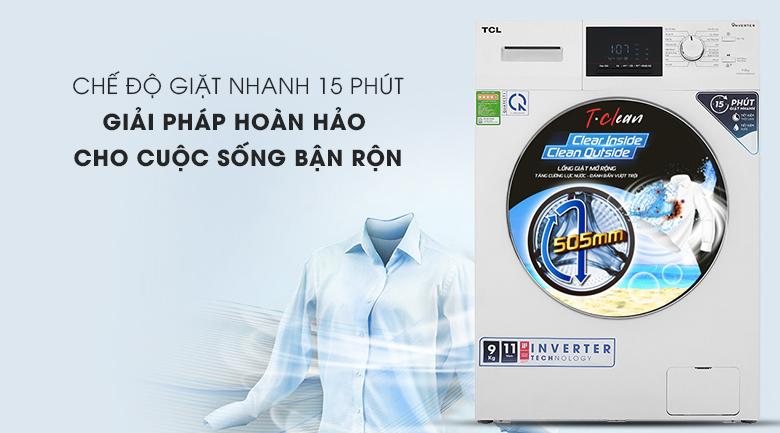 Máy giặt TCL TWF90-M14303DA03 - giặt nhanh
