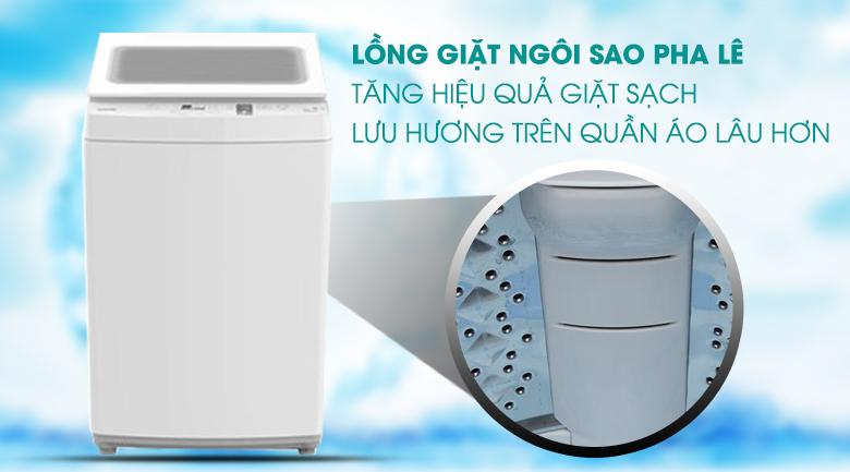 Lồng giặt ngôi sao pha lê - Máy giặt Toshiba 7 kg AW-K800AV(WW)