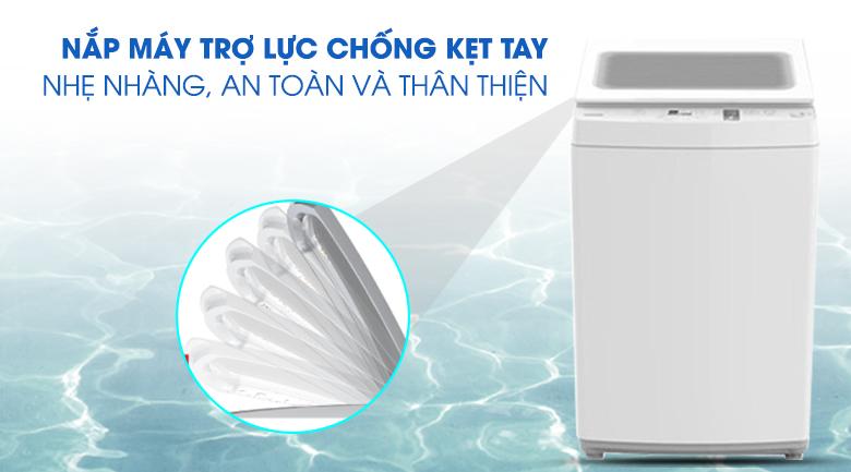 Nắp máy chống kẹt tay - Máy giặt Toshiba 7 kg AW-K800AV(WW)