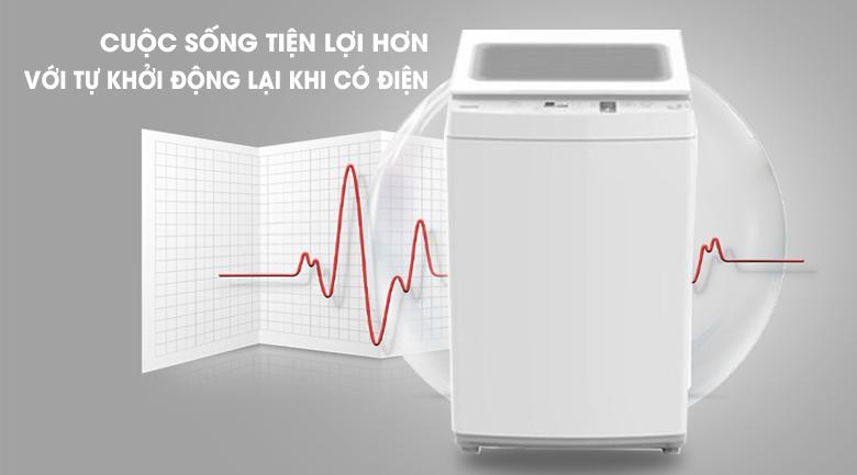 Tự khởi động lại - Máy giặt Toshiba 7 kg AW-K800AV(WW)