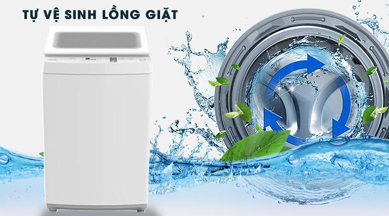 Vệ sinh lồng giặt - Máy giặt Toshiba 7 kg AW-K800AV(WW)