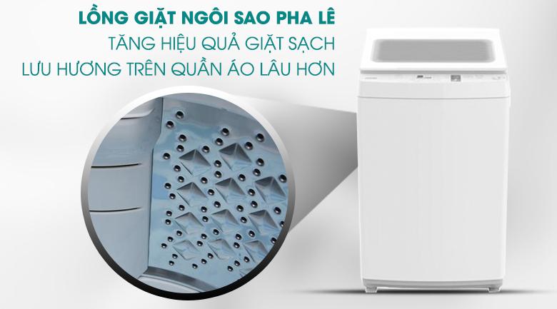 Lồng giặt ngôi sao pha lê Máy giặt Toshiba 8 kg AW-K900DV(WW)