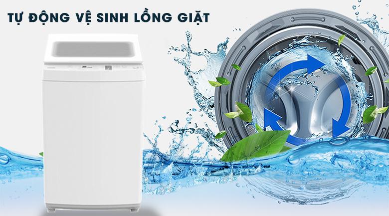 Tự vệ sinh lồng giặt - Máy giặt Toshiba 8 kg AW-K900DV(WW)
