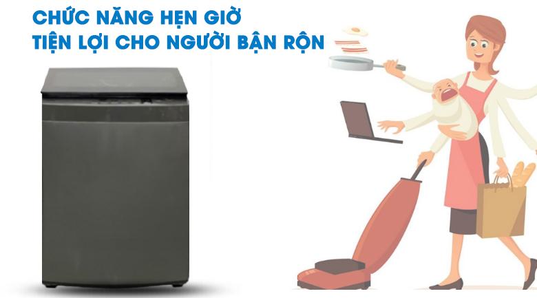Hẹn giờ-máy giặt Toshiba 8 kg AW-K905DV