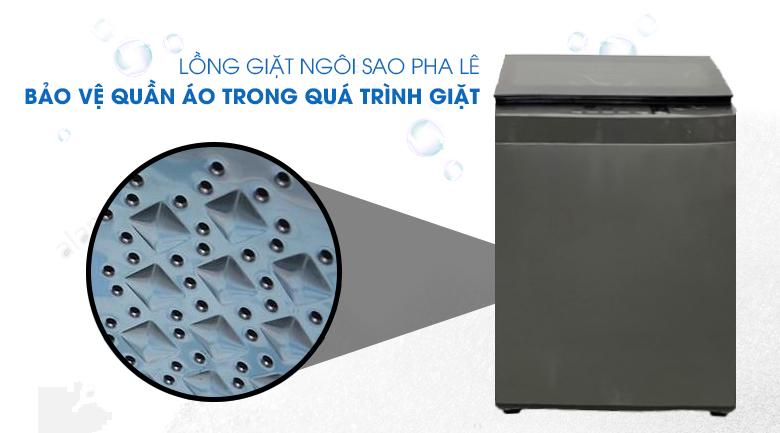 lồng giặt ngôi sao pha lê-máy giặt Toshiba 8 kg AW-K905DV