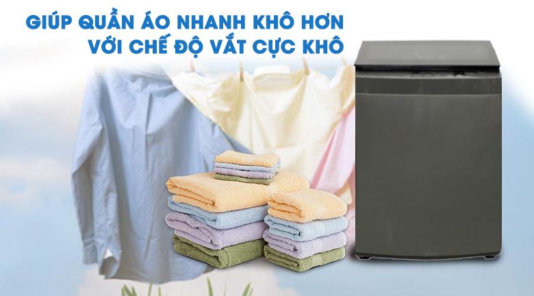 vắt cực khô-máy giặt Toshiba 8 kg AW-K905DV