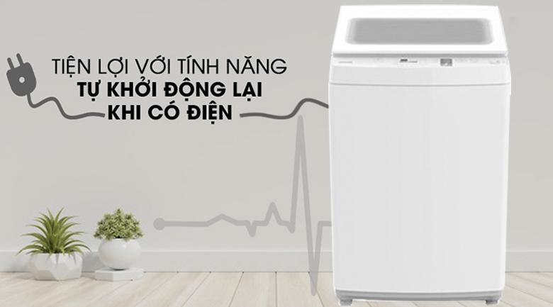 Khởi động lại - Máy giặt Toshiba 9 kg AW-K1000FV