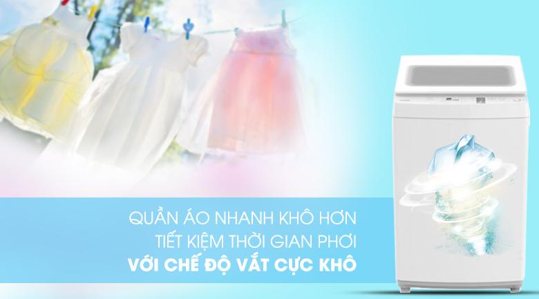 vắt cực khô - Máy giặt Toshiba 9 kg AW-K1000FV