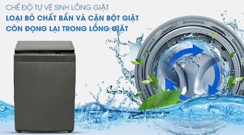 Vệ sinh lồng giặt - máy giặt Toshiba 9 kg AW-K1005FV