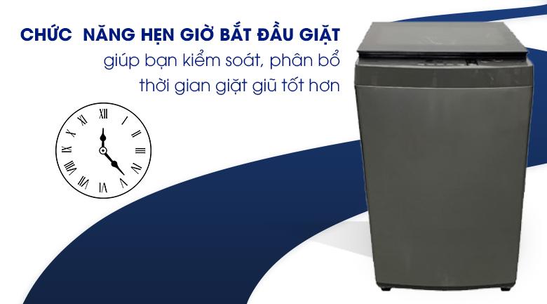 Hẹn giờ bắt đầu giặt - máy giặt Toshiba 9 kg AW-K1005FV