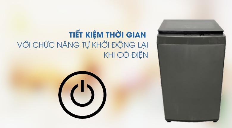 Khởi động lại-Máy giặt Toshiba 9 kg AW-K1005FV