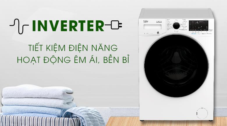 Inverter - Máy giặt Beko Inverter 8 kg WCV8649XWST