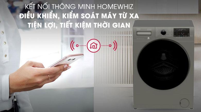 HomeWhiz-Máy giặt Beko Inverter 10 kg WCV10749XMST