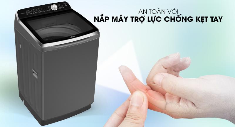 Chống sập - Máy giặt Aqua 10 Kg AQW-FR100ET S