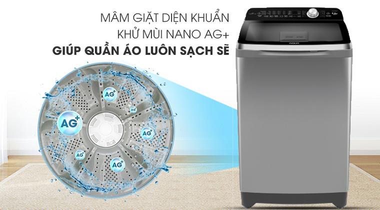 Ag+ - Máy giặt Aqua 10 Kg AQW-FR100ET S
