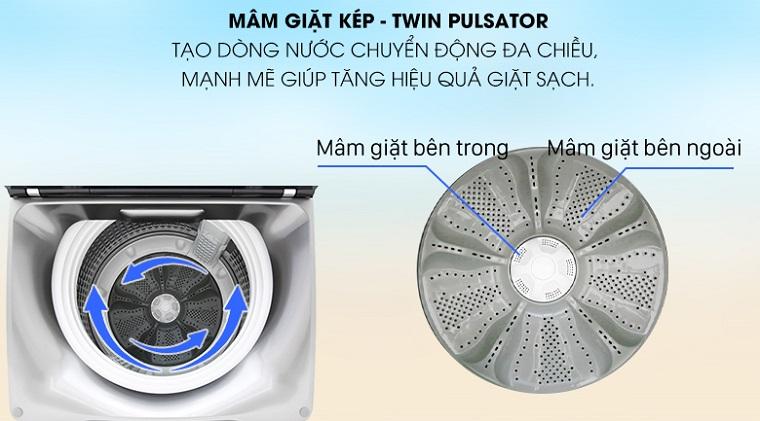mâm giặt - Máy giặt Aqua 10 Kg AQW-FR100ET S