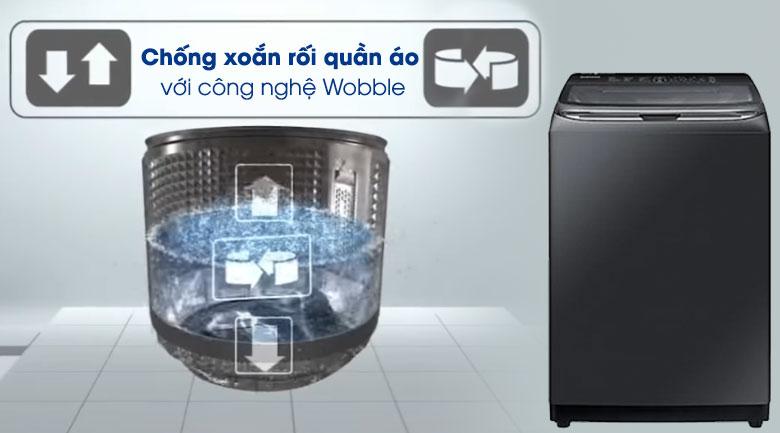 Wobble -Máy giặt Samsung Inverter 22 kg WA22R8870GV/SV