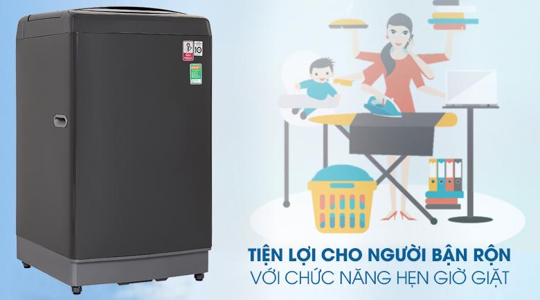 Máy giặt LG TH2111DSAB với tính năng hẹn giờ, phù hợp với người bận rộn