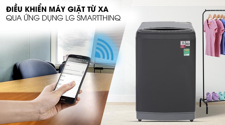 Điều khiển máy giặt LG TH2111DSAB từ xa qua ứng dụng LG SmartThinQ