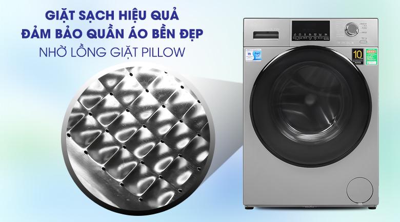 Pillow-Máy giặt Aqua Inverter 9 kg AQD-D900F S