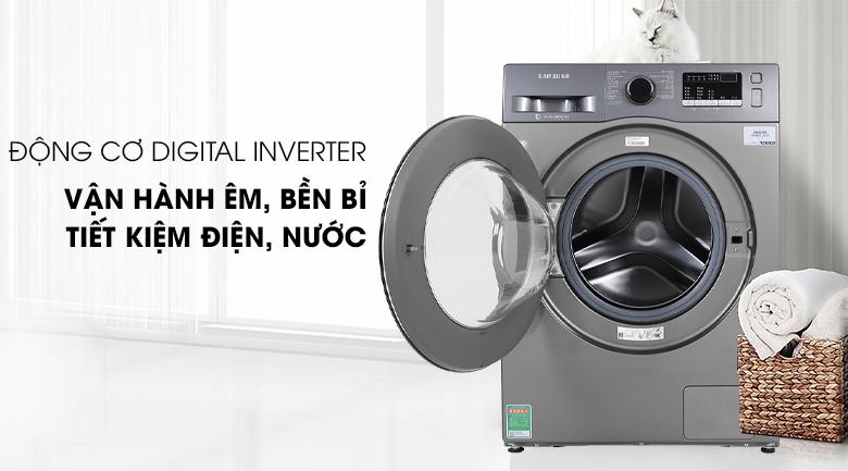 Máy giặt Samsung Inverter 8.5 kg WW85J42G0BX/SV có động cơ Inverter