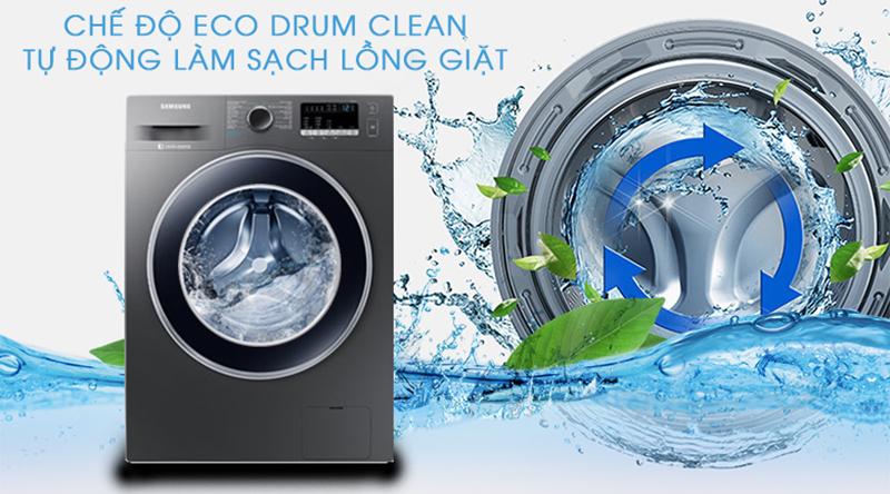 Máy giặt Samsung Inverter 8.5 kg WW85J42G0BX/SV-Kéo dài tuổi thọ máy nhờ khả năng tự vệ sinh lồng giặt