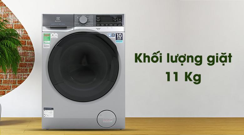 Máy giặt Electrolux EWF1141SESA - Khối lượng giặt