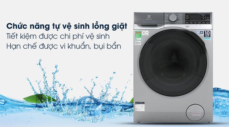 Máy giặt Electrolux EWF1141SESA - Vệ sinh lồng giặt