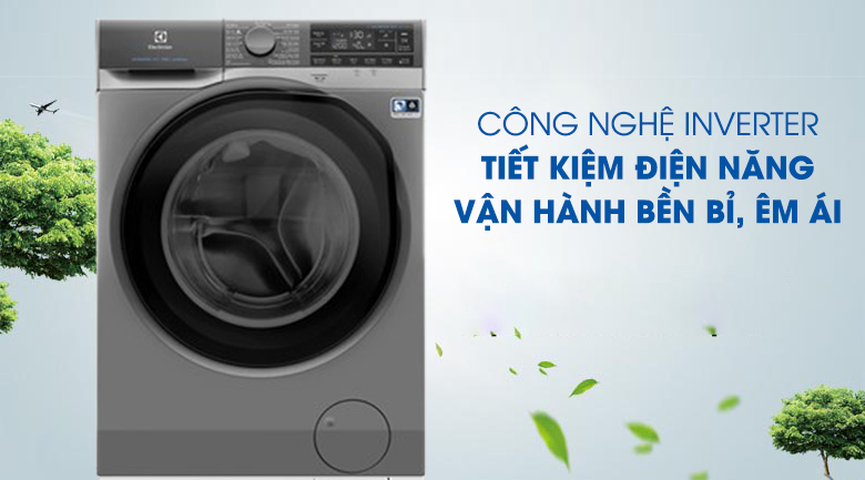 Công nghệ Inverter - Giặt nước nóng - Máy giặt Electrolux EWF1141SESA