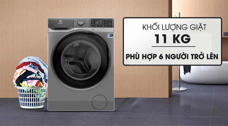 Khối lượng giặt 11 KG Máy giặt Electrolux EWF1141SESA