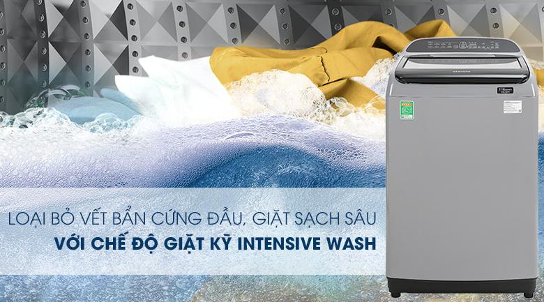 Máy giặt Samsung Inverter 9 kg WA90T5260BY/SV - Intensive Wash