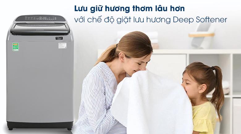Máy giặt Samsung Inverter 9 kg WA90T5260BY/SV - Giặt lưu hương