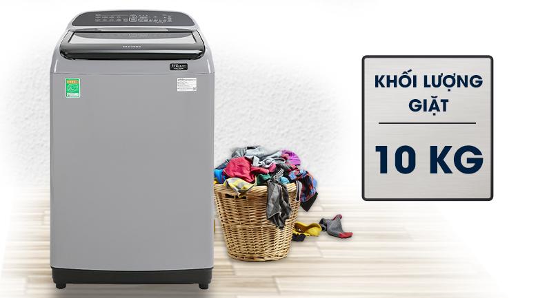 Máy giặt Samsung Inverter 10 kg WA10T5260BY/SV - Khối lượng giặt