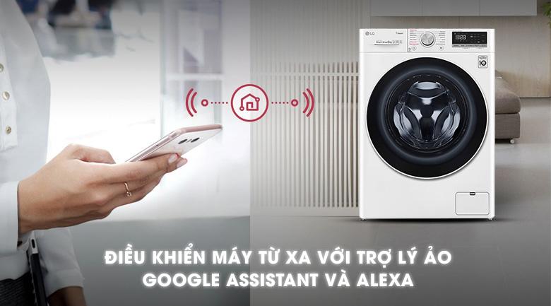 Máy giặt LG Inverter 8.5 kg FV1408S4W | Điều khiển từ xa