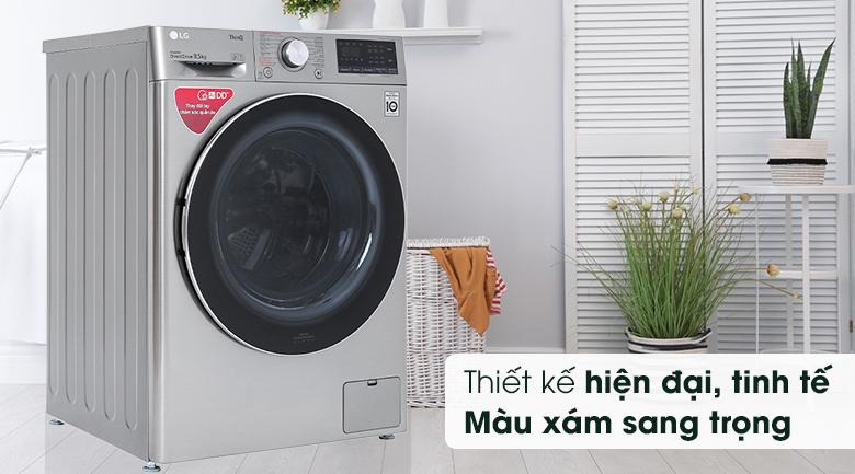 Máy giặt LG Inverter 8.5 kg FV1408S4V - Thiết kế hiện đại