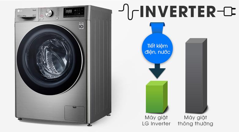 Máy giặt LG Inverter 8.5 kg FV1408S4V | Tiết kiệm