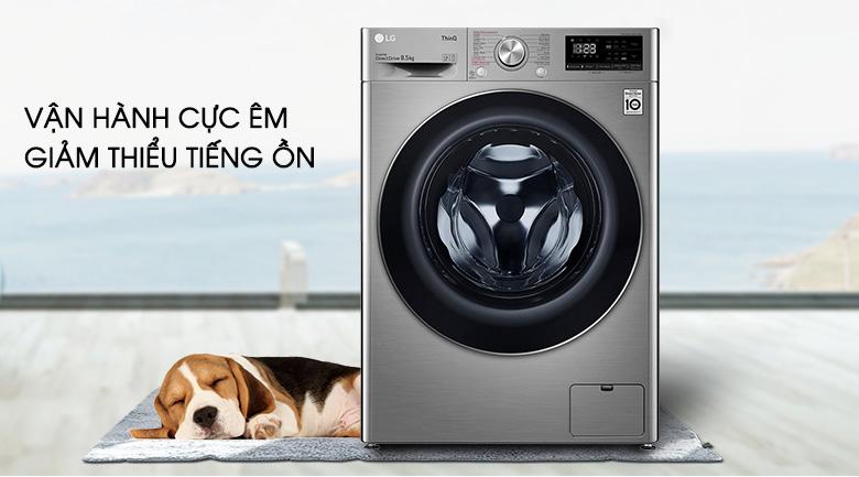 Máy giặt LG Inverter 8.5 kg FV1408S4V | Yên tĩnh