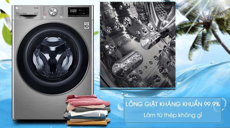 Máy giặt LG Inverter 8.5 kg FV1408S4V | Lồng giặt