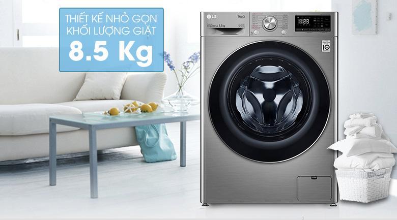 Máy giặt LG Inverter 8.5 kg FV1408S4V | Khối lượng giặt