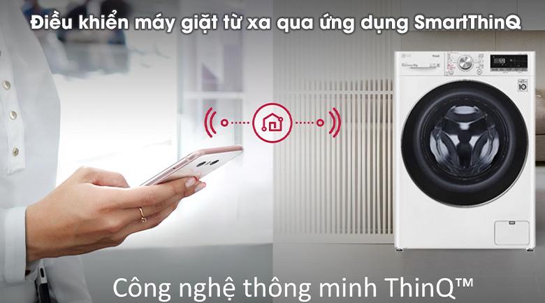 Máy giặt LG Inverter 9 kg FV1409S2W - SmartThinQ