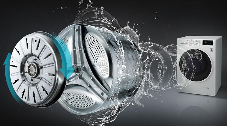 Máy giặt LG Inverter 9 kg FV1409S2W - Inverter