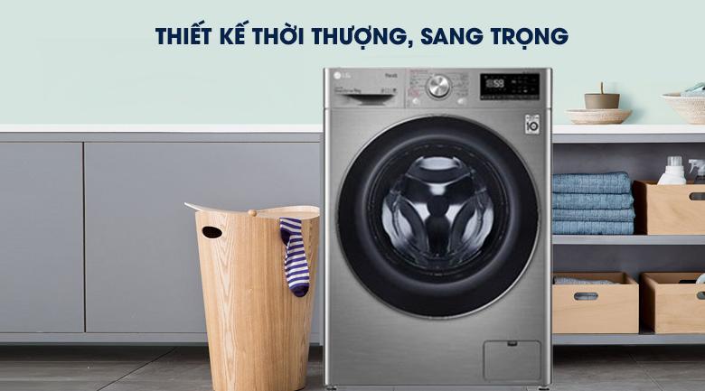 Máy giặt LG Inverter 9 kg FV1409S2V  - Thiết kế