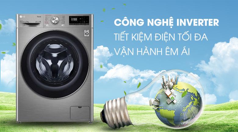 Máy giặt LG Inverter 9 kg FV1409S2V - Inverter
